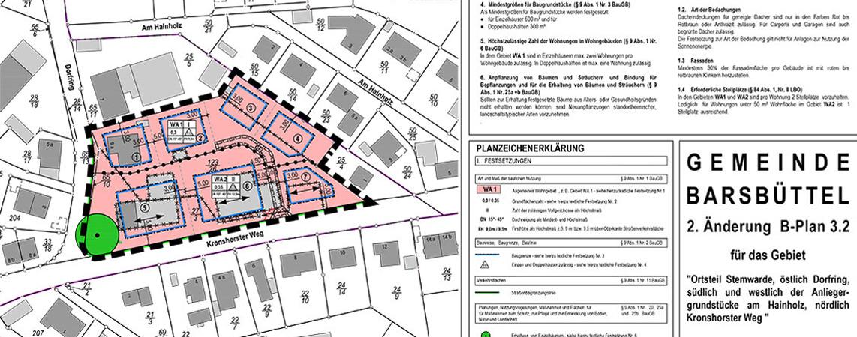 Abgeschlossenes Bauprojekte in der Gemeinde Barsbüttel