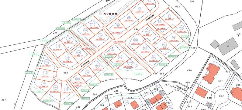 Lageplan, Baugebiet Trittau - Bauland 24